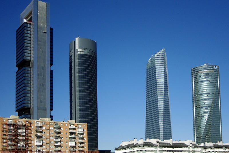 Towers in Madrid