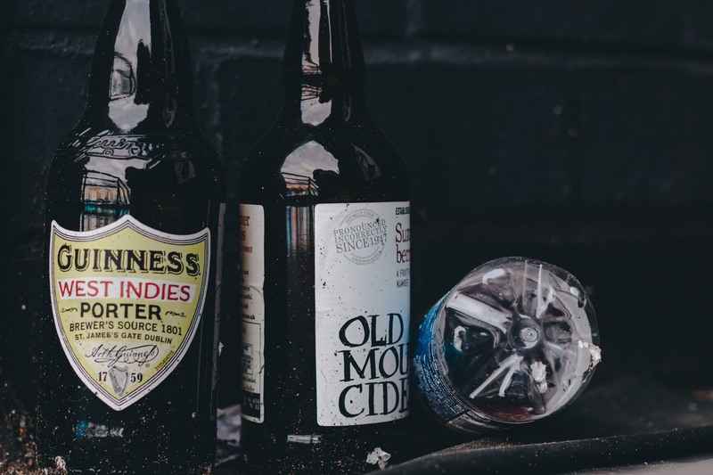 Two Assorted-Label Bottles