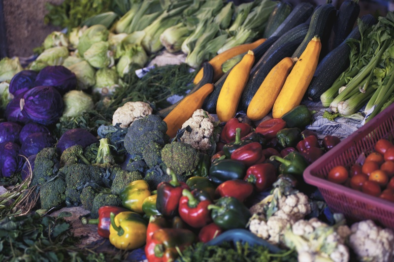 Vegetable Stand Photo