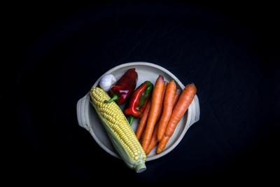 Vegetables in a Dish