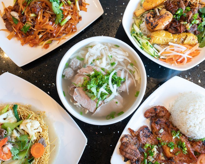 Vietnamese Food And Pho
