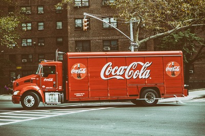 Vintage Coke Truck in New York