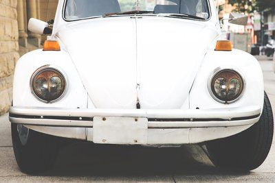White Punch Buggy