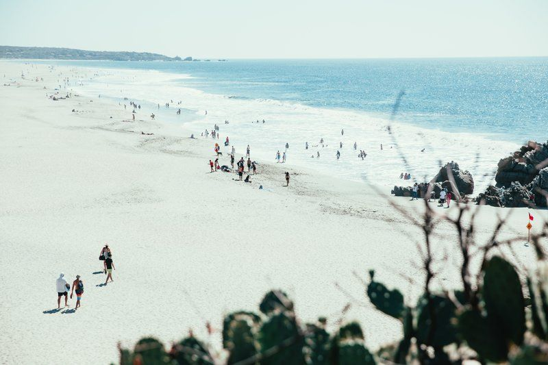 White Sand Beach From