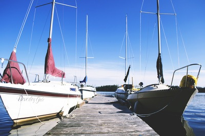 Yachts at Dock